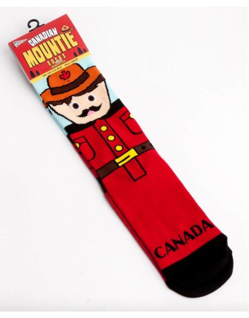 Canadian Mountie Socks