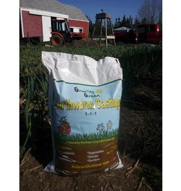 Growing Green Earth worm Castings -17 Liter