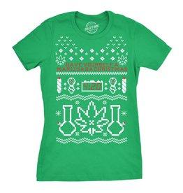 Crazy Dog T Shirts Have Yourself A Marijuana Christmas Tee