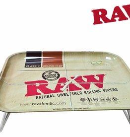"Raw Raw Metal Lap Tray XXL 15"" x 20"""