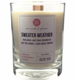 Wax Wick & Flame Wax Wick & Flame Timberwick - 14 oz Highball w/ Dual Woodwick - Sweater Weather