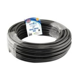 Hydro Flow Hydro Flow Vinyl Tubing Black 1/2 in ID - 5/8  OD in 100 ft Roll single (By the Foot)