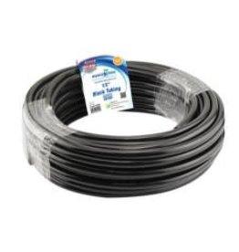 Hydro Flow Hydro Flow Vinyl Tubing Black 1/2 in ID - 5/8  OD in 100 ft Roll single (By the Foot)