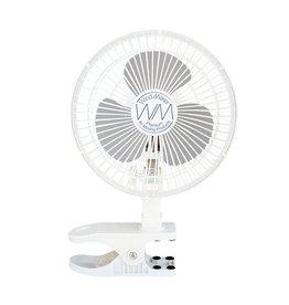 """WindMaker Clip Fan 6"""" 120v 18-14 Watt - 2 Speeds"""
