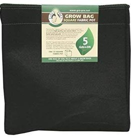 Gro Pro Gro Pro Square Fabric Pot - 5 Gallon