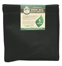 Gro Pro Gro Pro Square Fabric Pot - 5 Gallon