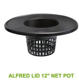 "Alfreds Alfred Lid 6"" Net Pots"