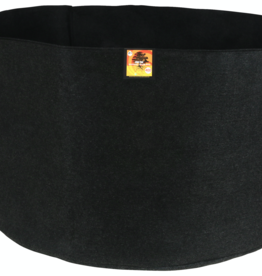 Gro Pro Gro Pro Essential Round Fabric Pot - Black 400 Gallon