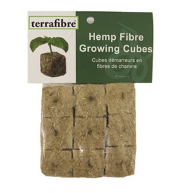 "Hemp Fibre Growing Cubes 1.5"", 9 cubes"
