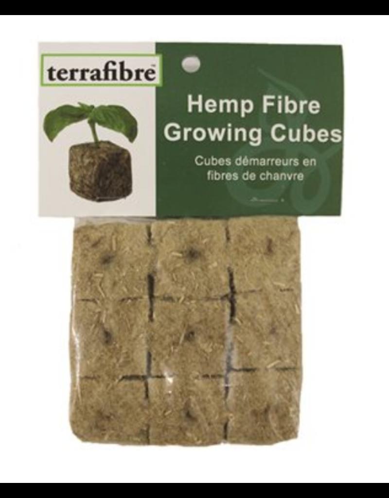 "Hemp Fibre Growing Cubes 1.5"", 9 cubes"