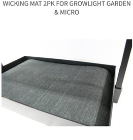 Growlite Wicking Mat 2Pk For Growlight Garden & Micro