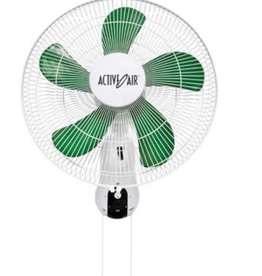 "Hydrofarm 16"" Wall Mount Oscillating Fan"