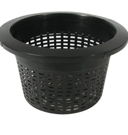 "Future Harvest Mesh Pot 10"" - Bucket Basket lidded"