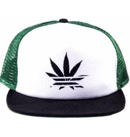 No Bad Ideas No Bad Ideas - Jay - Trucker Hat Green/Black Leaf
