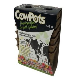 Earth Alive CowPot 3 inch retail pack (12 pots)