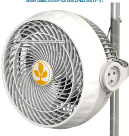 Secret Jardin Secret Jardin Monkey Fan Oscillating 30 Watt 10""