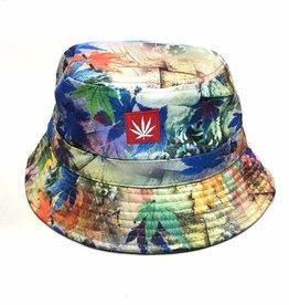 Stonerdays Marijuana Leaf Blue Dream Bucket Hat
