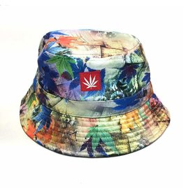 Stonerdays Marijuana Leaf Blue Dream Bucket Hat