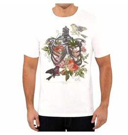 Stonerdays Men's True Love Tee - Medium - White