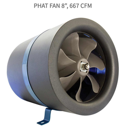 "Phat Filter Phat Fan 8"" - 667 CFM"