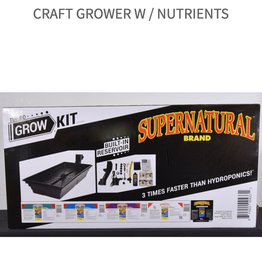 Super Natural SuperNatural - Turbo Grow Kit  W / Nutrients