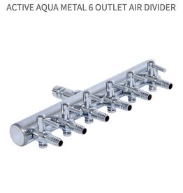 Active Aqua Hydroculture Active Aqua Metal 6 Outlet Air Divider