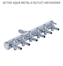 Active Aqua Hydroculture Active Aqua Metal 6 Outlet Air Divider