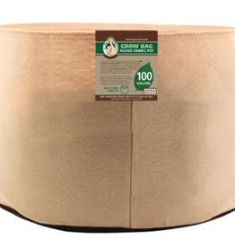 Gro Pro Gro Pro Premium 100 Gallon Round Fabric Pots - Tan