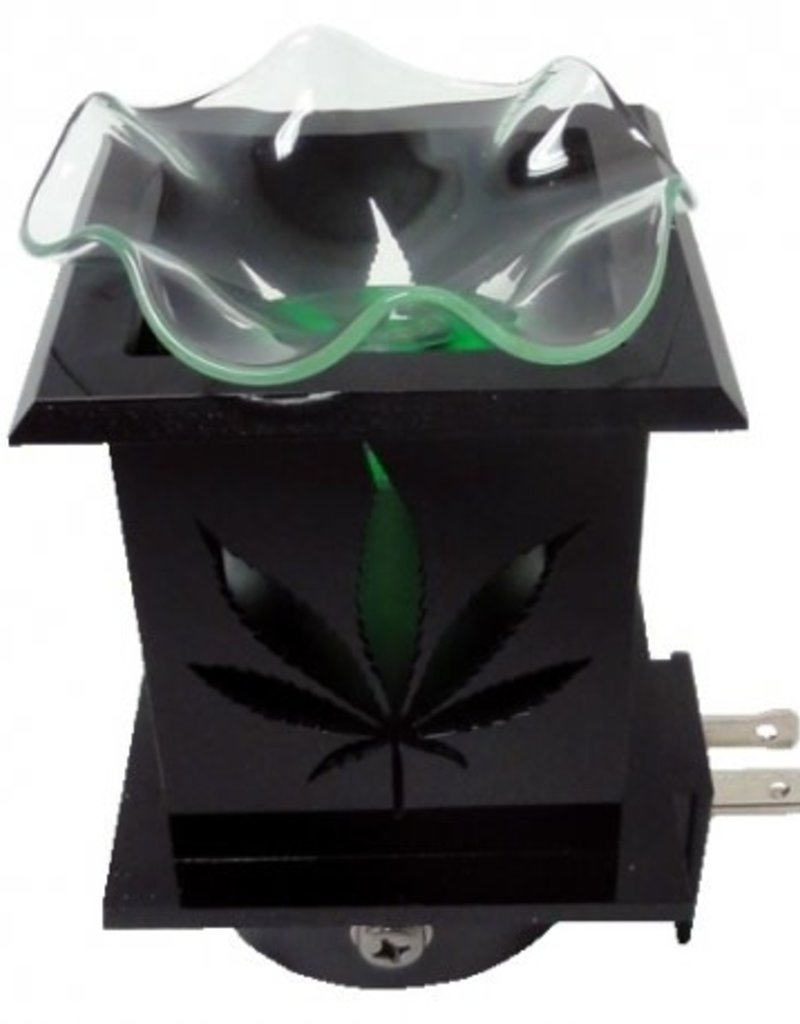 Electric Plug In Oil Warmer - Leaf