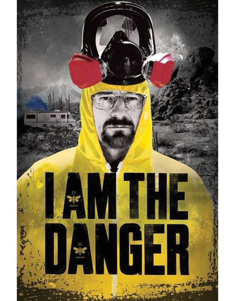 "Breaking Bad - I Am The Danger Poster - 24""x36"""