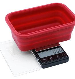 Truweigh Truweigh Crimson Collapsible Bowl Scale - 200g x 0.01g Black