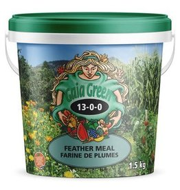 Gaia Green GG Feather Meal 1.5 KG 13-0-0