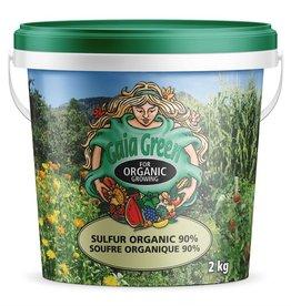 Gaia Green GG Sulphur Organic 90% Pail 2Kg