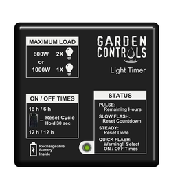Garden Controls Garden Controls Light Timer