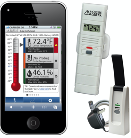 La Crosse La Crosse Alerts Remote Temperature and Humidity Monitoring System