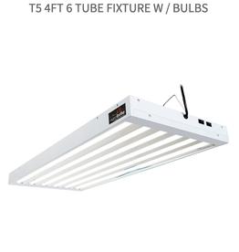 Agrobrite AgroBrite T5 4Ft 6 Tube Fixture w / Bulbs