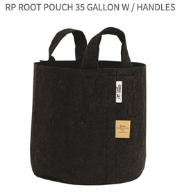 RhizoPot RP Root Pouch 35 gallon w / handles