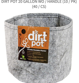 Dirt Pot Dirt Pot 20 Gallon wo / Handle (10 / pk)