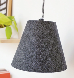 Modern Sprout Felt Pendant LED Growlight w/ Lampshade