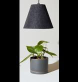 Modern Sprout Felt Pendant LED Growlight w/ Lampshade