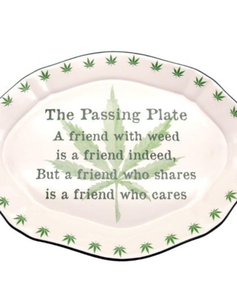 Weedin Passing Plate