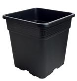 Gro Pro Gro Pro Black Square Pot 1 Gallon