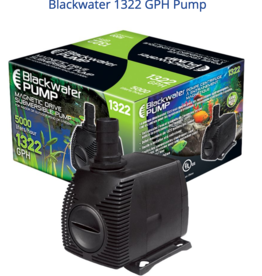 BlackWater Blackwater 1322 GPH Pump