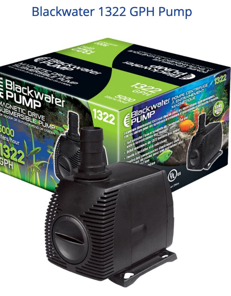 BlackWater Blackwater 1322 GPH Pump