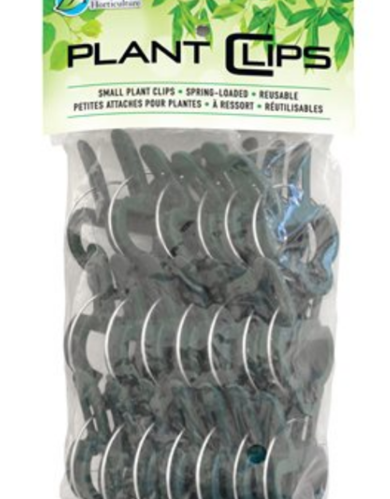 """Plant Clips Spring Loaded Large 2 1 / 2"""" x 1 3 / 4"""" (20 / Pk)"""