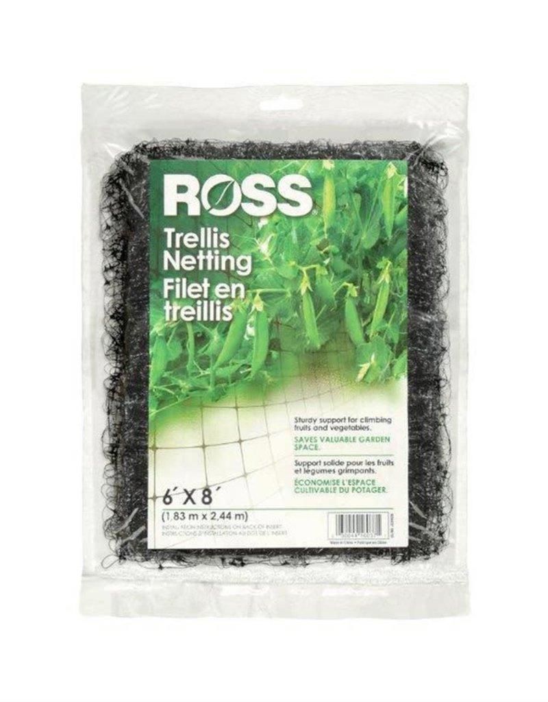 Ross Ross Trellis Netting-Black 6'x8'