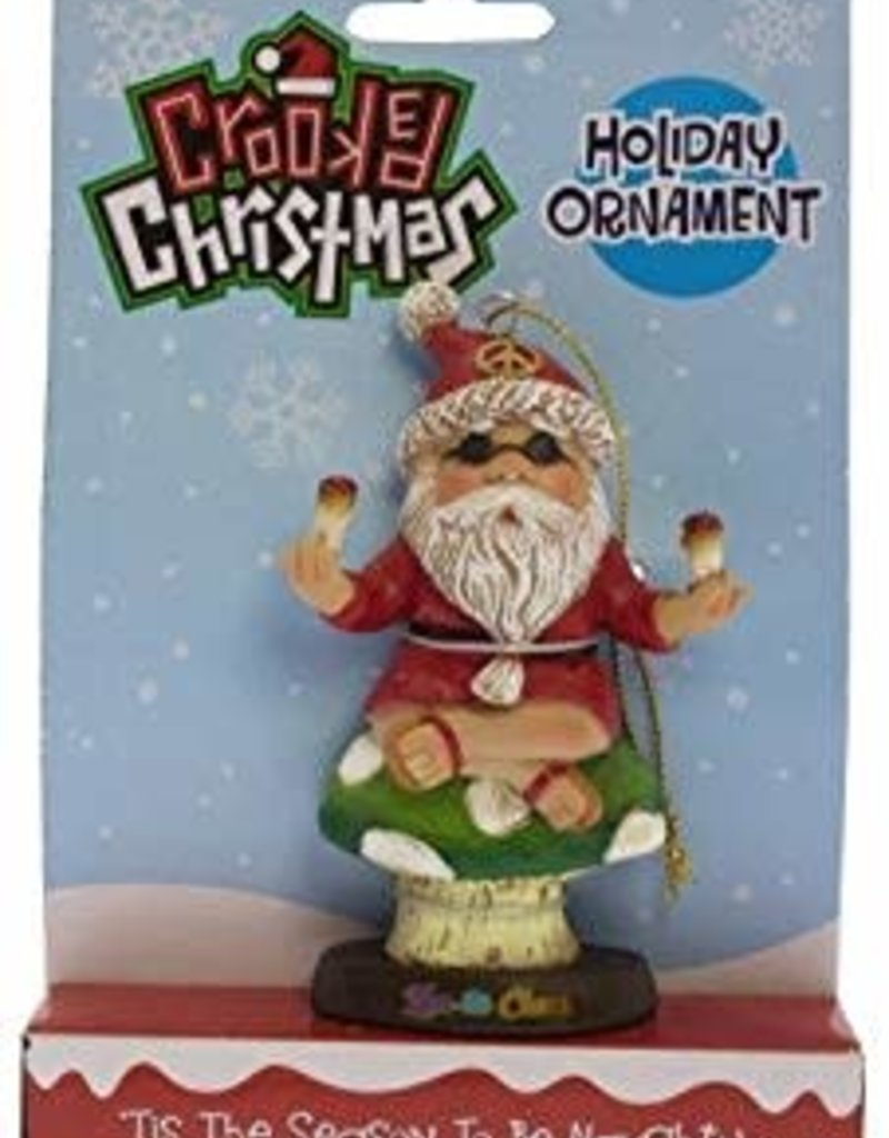 Crooked Christmas Ornament - Zen-ta Claus