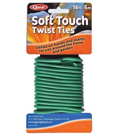 Quest Soft Twist Ties - 16ft / 5m
