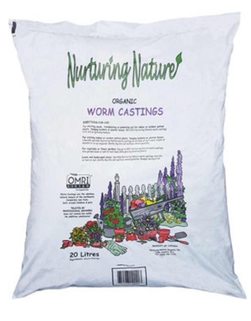 Nurturing Nature Worm Castings 20 L - Nurturing Nature