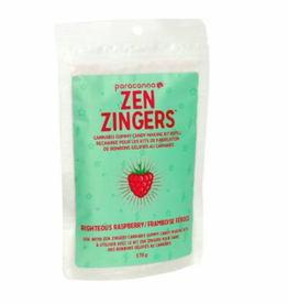 Paracanna Zen Zinger Cannabis Gummy Refill - Righteous Raspberry